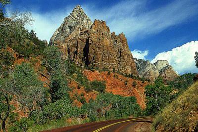 Photograph - Zion National Park Utah - Color Photo by Peter Potter