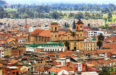 Photograph - Zipaquira Colombia by John Rizzuto