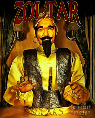 Photograph - Zoltar Speaks Fortune Teller 20181224 V2 by Wingsdomain Art and Photography