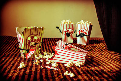 Photograph - Zombie Popcorn by Traci Asaurus
