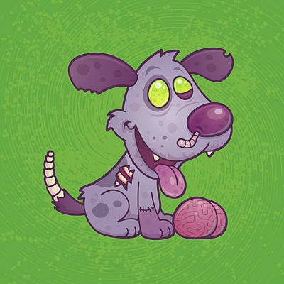Royalty-Free and Rights-Managed Images - Zombie Puppy by John Schwegel