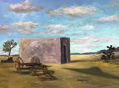 Painting - Zona Del Silencio/zone Of Silence by Randy Burns