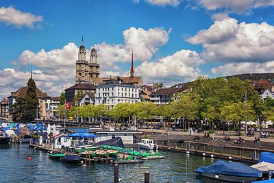 Photograph - Zurich City View Vista by Liran Eisenberg