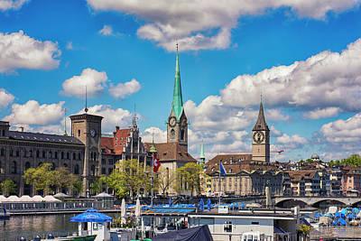 Photograph - Zurich Urban View by Liran Eisenberg