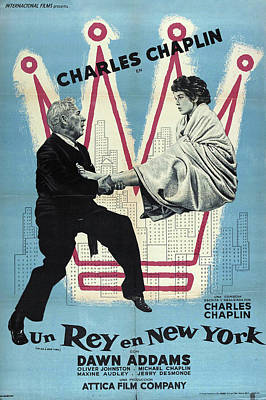 Royalty-Free and Rights-Managed Images -  A King in New York, with Charlie Chaplin, 1957 by Stars on Art