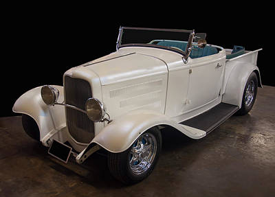 Staff Picks Judy Bernier Rights Managed Images - 1932 Ford Roadster Pickup Royalty-Free Image by Chris Flees