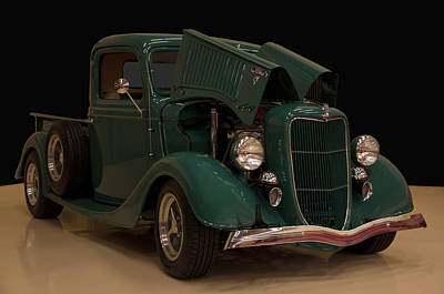 Lucille Ball Royalty Free Images - 1936 Ford Pickup Royalty-Free Image by Chris Flees