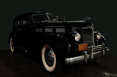 Lucille Ball Royalty Free Images - 1938 Cadillac 60 series Royalty-Free Image by Chris Flees