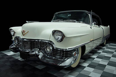 Minimalist Movie Quotes - 1954 Cadillac Eldorado by Chris Flees