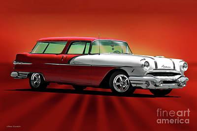 Anchor Down - 1954 Pontiac Safari Wagon by Dave Koontz