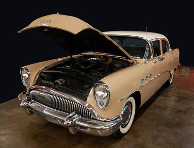 Shark Art - 1955 Buick Special by Chris Flees