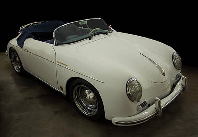 Door Locks And Handles - 1956 Porsche 356 speedster by Chris Flees