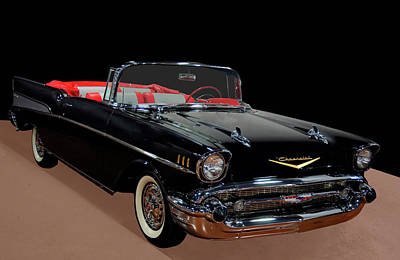 Kids Alphabet Royalty Free Images - 1957 Chevy Bel Air Convertible Royalty-Free Image by Chris Flees