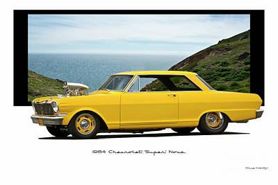 Blue Hues - 1964 Chevrolet Nova Hardtop by Dave Koontz