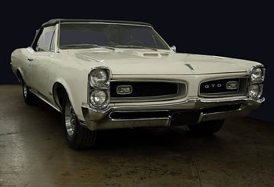 Studio Grafika Typography - 1966 Pontiac GTO Convertible by Chris Flees