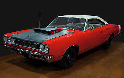 Valentines Day - 1969 1/2 Dodge Coronet A12 Super Bee by Chris Flees