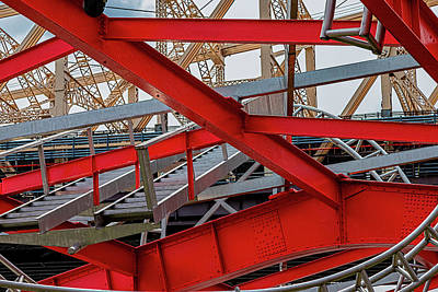 School Teaching - 59th Street Bridge and Alice Aycock Pavilion by Robert Ullmann