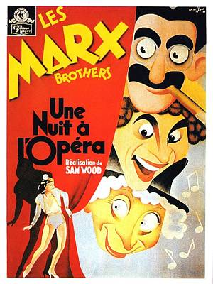 Royalty-Free and Rights-Managed Images - A Night at the Opera, with the Marx Brothers, 1935 by Stars on Art