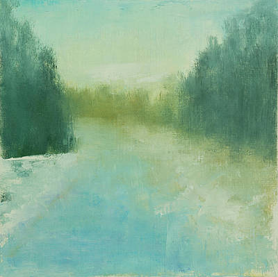 Painting - A Walk in Winter by Victoria Veedell