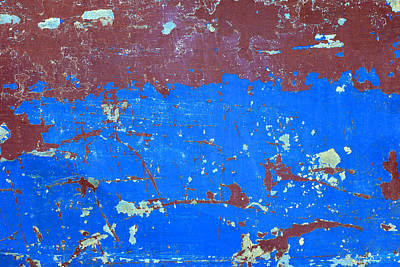 Royalty-Free and Rights-Managed Images - Abstract background, Colorful of steel rusty texture background, Steel rust surface old rustic steel plate painted color by Julien