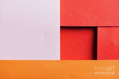 Royalty-Free and Rights-Managed Images - Abstract geometry color paper texture background with light and  by Jelena Jovanovic
