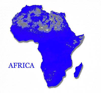 Christmas Christopher And Amanda Elwell - Africa by David Lee Thompson