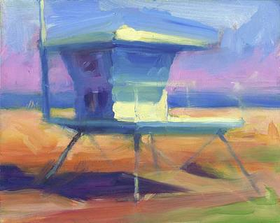 Painting - Afternoon Lifeguard by Harvey Cusworth