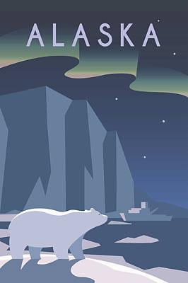 Modern Kitchen - Alaska by Celestial Images