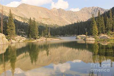 Photograph - Alpine Lake by Tonya Hance