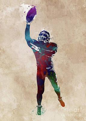David Bowie - American football player #football #sport by Justyna Jaszke JBJart