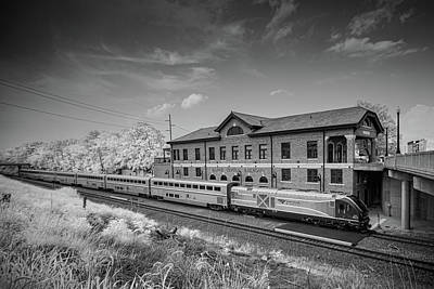 Staff Picks Cortney Herron - Amtrak 393 pulls into the old Illinois Central Depot in downtown Mattoon Illinois by Jim Pearson