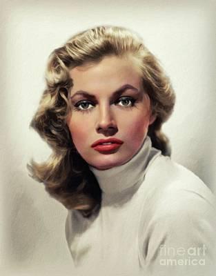 Design Pics - Anita Ekberg, Hollywood icon by John Springfield