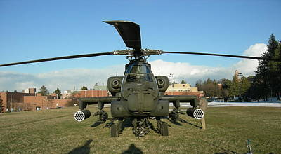 Photograph - Apache helicopter by Jean Evans