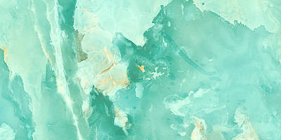 Royalty-Free and Rights-Managed Images - Aqua tone onyx marble texture by Julien