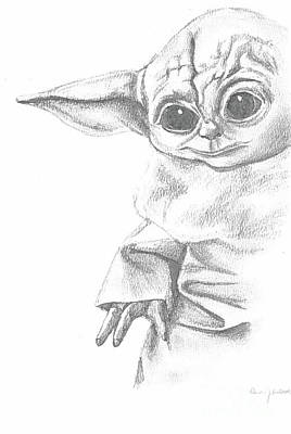 Science Collection Rights Managed Images - Baby Yoda Royalty-Free Image by Robin Latsch