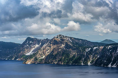 The Beach House - Beautiful scenery at Crater lake. by Judit Dombovari