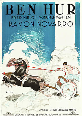 Royalty-Free and Rights-Managed Images - Ben Hur, with Ramon Novarro, 1925 by Stars on Art