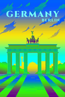Royalty-Free and Rights-Managed Images - Berlin by Celestial Images
