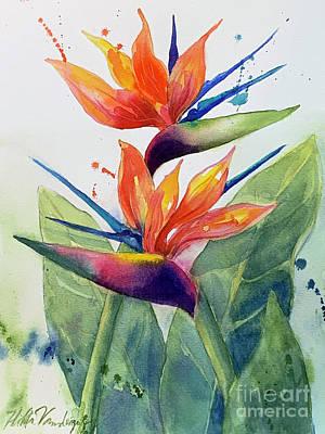 Kitchen Signs - Bird of Paradise by Hilda Vandergriff