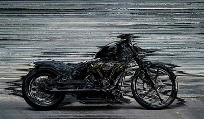 Photograph - Black and Fast by Mediamerge - Dan Roitner
