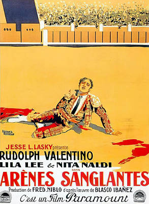 Royalty-Free and Rights-Managed Images - Blood and Sand, with Rudolph Valentino, 1922 by Stars on Art