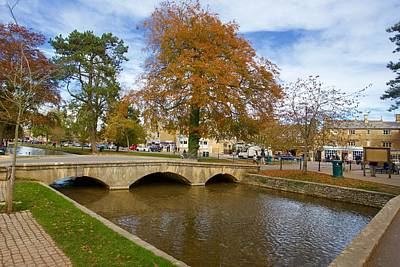 David Bowie - Bridge, Bourton-on-the-Water, Gloucestershire, England by Joe Vella