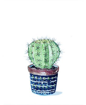 Railroad - Cactus by Luisa Millicent