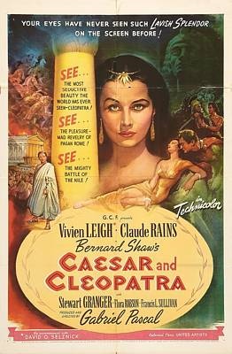 Royalty-Free and Rights-Managed Images - Caesar and Cleopatra - 1945 by Stars on Art