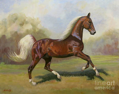 Royalty-Free and Rights-Managed Images - Canter by Jeanne Newton Schoborg