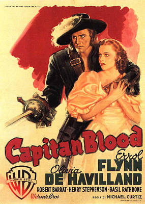 Bringing The Outdoors In - Captain Blood - 1935 by Stars on Art