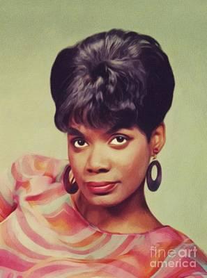 Music Paintings - Carla Thomas, Music Legend by John Springfield