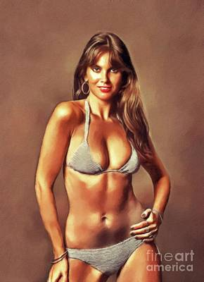 Royalty-Free and Rights-Managed Images - Caroline Munro, Actress by John Springfield