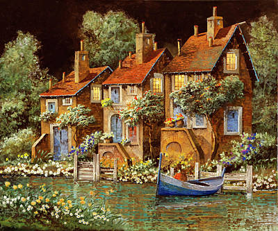 Royalty-Free and Rights-Managed Images - Case Al Crepuscolo by Guido Borelli
