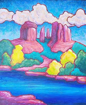 Painting - Cathedral Rock by Terry Ann Morris